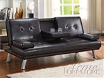 Kayden Espresso Bycast Adjustable Sofa Bed by Acme - 15280