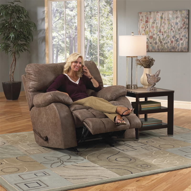 madden reclining console loveseat with heat and massage by catnapper - Catnapper Recliner