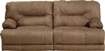 Noble Lay Flat Reclining Sofa in Almond Fabric by Catnapper - 1361-A