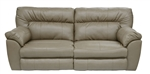 Larkin Lay Flat Reclining Sofa in Buff or Coffee Color Upholstery by Catnapper - 1391