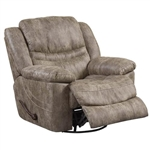 Valiant Swivel Glider Recliner in Coffee, Marble or Elk Fabric by Catnapper - 1400-5