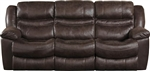 Valiant Reclining Sofa in Coffee, Marble or Elk Fabric by Catnapper - 1401