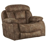 Desmond Lay Flat Recliner in Mushroom, Marble, or Sable Fabric by Catnapper - 1430-7