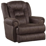 Atlas Extra Tall Wall Proximity Recliner in Sable Fabric by Catnapper - 1560-4
