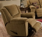Transformer Chaise Swivel Glider Recliner in Beige Fabric by Catnapper - 1940-5