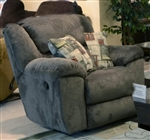 Transformer Chaise Swivel Glider Recliner in Seal Fabric by Catnapper - 1940-5-S