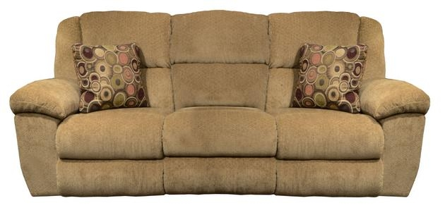 Transformer Ultimate Reclining Sofa In Beige Fabric By