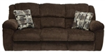 Transformer Ultimate Reclining Sofa in Chocolate Fabric by Catnapper  - 19445-C