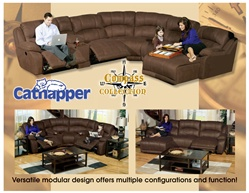 Comp Fully Modular Reclining Sectional By Catner Build Your Personal Design 199