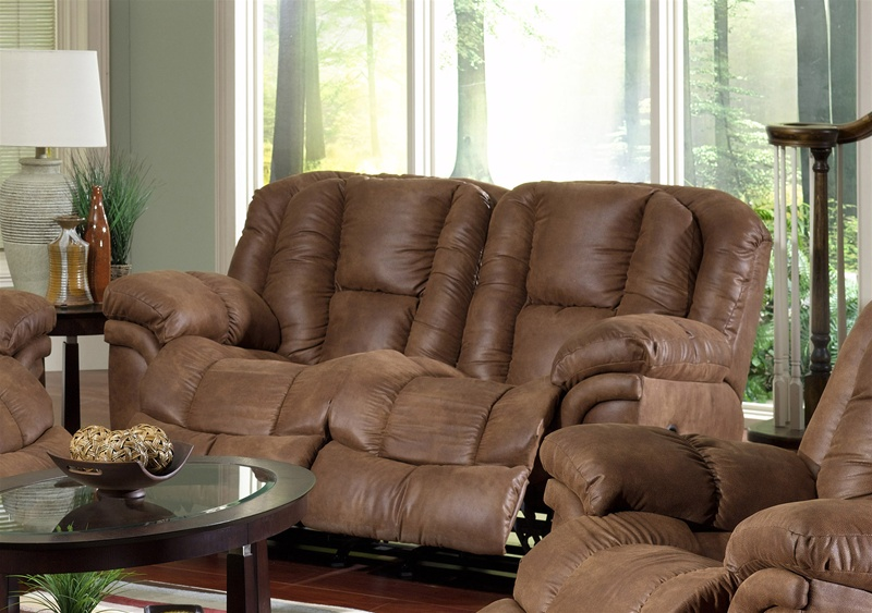Contour Rocker Reclining Love Seat in Tanner Fabric Cover by Catnapper - 3922-2-TAN & Contour Rocker Reclining Love Seat in Tanner Fabric Cover by ... islam-shia.org
