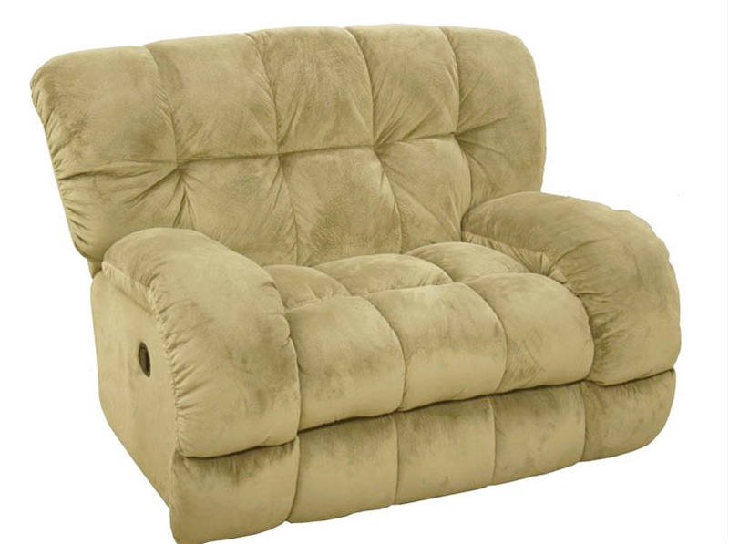Softie Cuddler  Inch-A-Way  Recliner in Buff Suede Fabric by Catnapper - 4001-4-BF  sc 1 st  Home Cinema Center : cuddler recliner - islam-shia.org