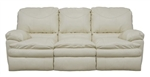 Perez Leather Reclining Sofa by Catnapper - 4141