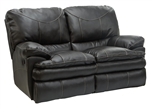 Perez Leather Reclining Loveseat by Catnapper - 4142