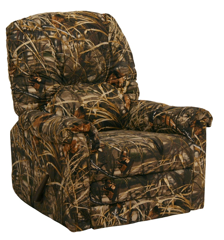 Winner Max 4 Realtree Camouflage Rocker Recliner By