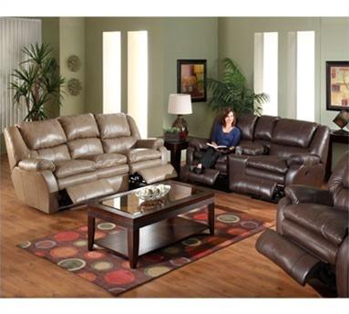Allegro Dual Reclining Sofa in Mushroom Color Leather by Catnapper - 4411-M & Allegro Dual Reclining Sofa in Mushroom Color Leather by Catnapper ... islam-shia.org