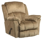 "Gibson Lay Flat Recliner in ""Mocha"" Color Fabric by Catnapper - 4516-7-M"