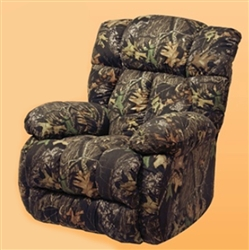 Laredo Real-Tree Max 4 Camouflage Chaise Rocker Recliner by Catnapper - 4609-2-CAMO-M4
