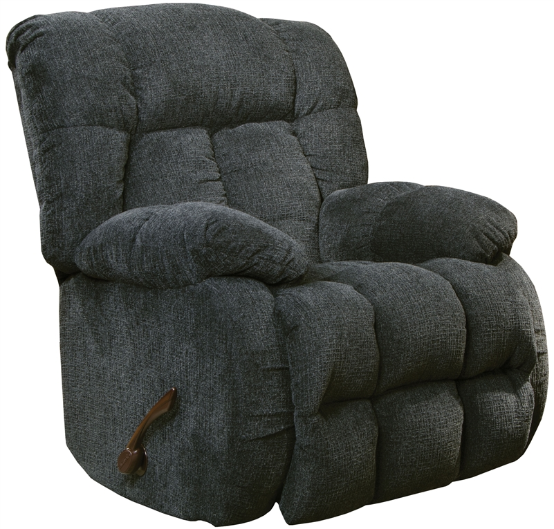 Laredo chaise rocker recliner in in slate fabric by for Camo chaise lounge