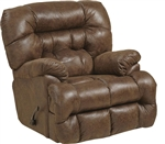 Colson Chaise Rocker Recliner with Heat and Massage in Canyon Fabric by Catnapper - 4624-2-C