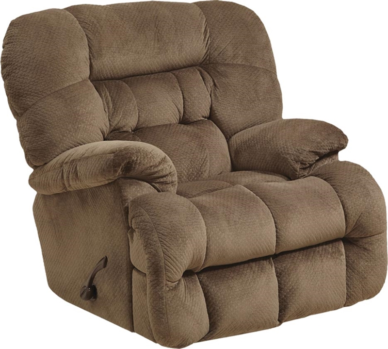 Colson Chaise Rocker Recliner With Heat And Massage In Mocha Fabric By Catnapper 4624 2 Mo