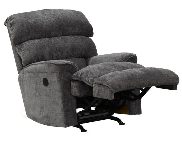 Pearson chaise rocker recliner in mocha chenille by for Catnapper cuddler chaise rocker recliner