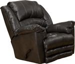 Filmore Chaise Rocker Recliner in Godiva Leather by Catnapper - 4745-2-G