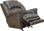 Filmore Chaise Rocker Recliner in Smoke Leather by Catnapper - 4745-2-S