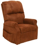 "Somerset ""Pow'r Lift"" Lounger Recliner in Mahogany Fabric by Catnapper - 4817-M"
