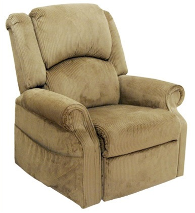 Heritage Quot Pow R Lift Quot Full Lay Out Chaise Recliner In
