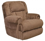 Burns Power Lift Full Lay Flat Dual Motor Recliner in Earth Fabric by Catnapper - 4847-ER