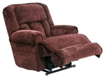 Burns Power Lift Full Lay Flat Dual Motor Recliner in Vino Fabric by Catnapper - 4847-V