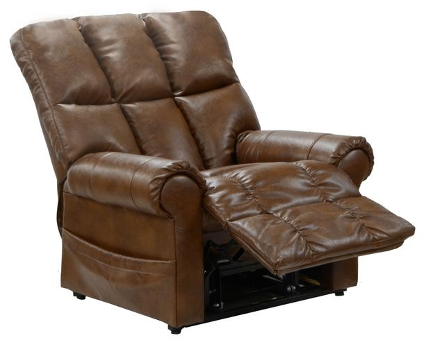 Stallworth power lift full lay out chaise recliner in for Catnapper chaise