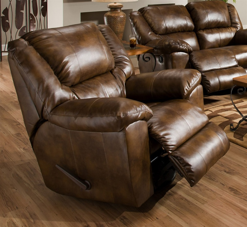 Transformer Toast Leather Chaise Swivel Glider Recliner by – Leather Swivel Glider Chair