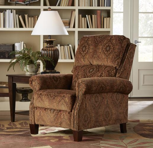 & Courtney Reclining Chair in Rustic Tapestry Fabric by Catnapper - 5551 islam-shia.org