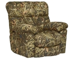 Duck Dynasty Chimney Rock Lay Flat Recliner in Realtree MAX 4 Camouflage Fabric by Catnapper - 5803-7
