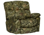 Duck Dynasty Chimney Rock Lay Flat Recliner in Mossy Oak Infinity Camouflage Fabric by Catnapper - 5803-7-I