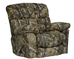 Duck Dynasty Chimney Rock Lay Flat Recliner in Realtree Xtra Camouflage Fabric by Catnapper - 5803-7-R