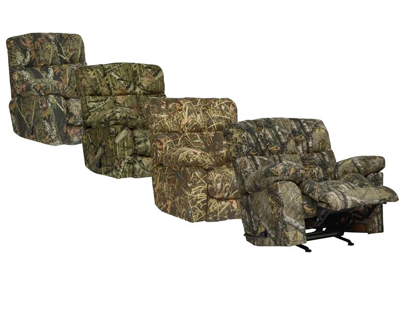 Duck Dynasty Chimney Rock Lay Flat Recliner In Realtree