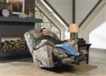 Duck Dynasty Yosemite Chaise Rocker Recliner with Heat and Massage in Realtree Xtra Camouflage Fabric by Catnapper - 5804-2-R