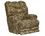 Duck Dynasty Big Falls Lay Flat Recliner in Realtree MAX4 Camouflage Fabric by Catnapper - 5805-7