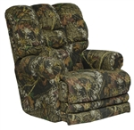 Duck Dynasty Big Falls Lay Flat Recliner in Mossy Oak New Break-Up Camouflage Fabric by Catnapper - 5805-7-B