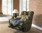 Duck Dynasty Big Falls Lay Flat Recliner in Mossy Oak Infinity Camouflage Fabric by Catnapper - 5805-7-I