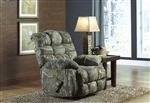 Duck Dynasty Flat Rock Chaise Rocker Recliner in Realtree Xtra Camouflage Fabric by Catnapper - 5806-2-R