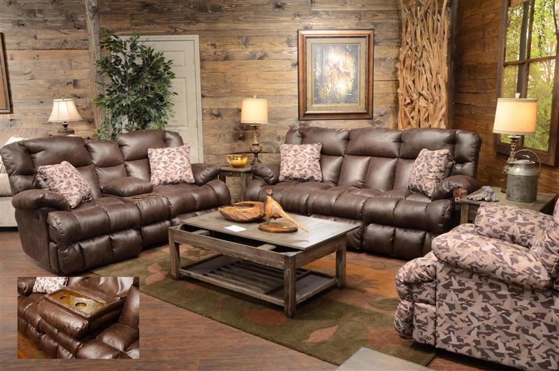 Camo Reclining Sofa Lay Flat Reclining Sofa In Mossy Oak Or Realtree Camouflage Fabric Thesofa