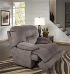 Noble POWER Lay Flat Recliner in Slate Fabric by Catnapper - 61360-7-S
