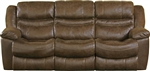 Valiant Power Reclining Sofa in Coffee, Marble or Elk Fabric by Catnapper - 61401
