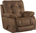 Watson POWER Lay Flat Recliner in Coal, Almond, or Burgundy Fabric by Catnapper - 61520-7