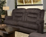 Atlas POWER Reclining Sofa in Sable Fabric by Catnapper - 61551