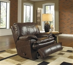 Perez Power Leather Rocker Recliner by Catnapper - 64140-2