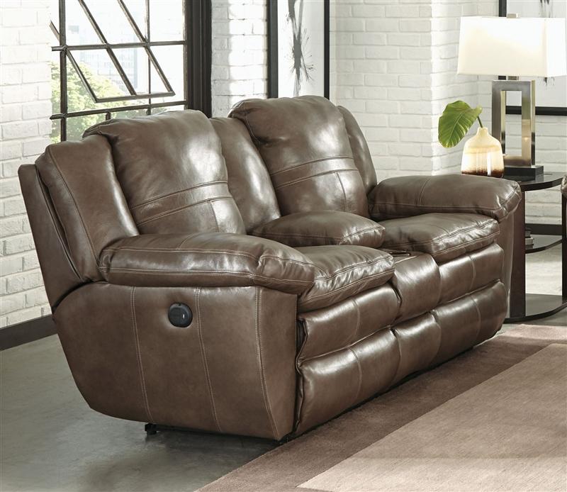 Italian Leather Sofa By Cake: Aria 2 Piece Power Lay Flat Reclining Sofa Set In Smoke